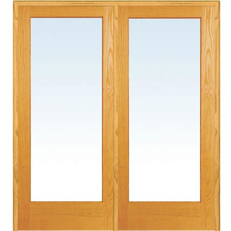 home depot interior doors with glass milliken millwork 73 5 in x 81 75 in clear glass
