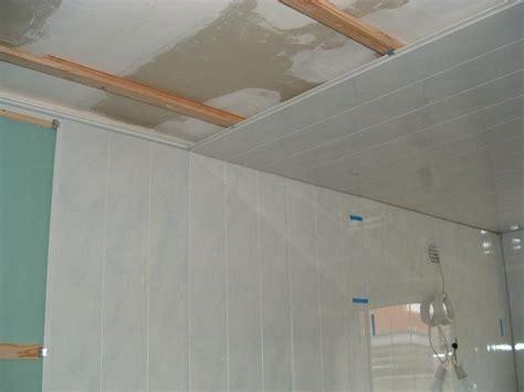 comment poser un faux plafond pvc comment faire un faux plafond en pvc excellent prix plafond tendu chteauroux comment bnficier