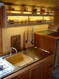 This homemade truck camper is a work of art for Truck camper interior ideas