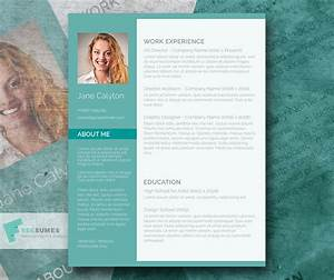 classy emerald a fancy word resume template freebie With fancy resume templates free