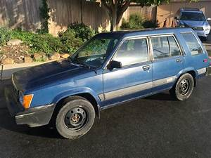 Daily Turismo  Auction Watch  1984 Toyota Tercel Sr5 4wd