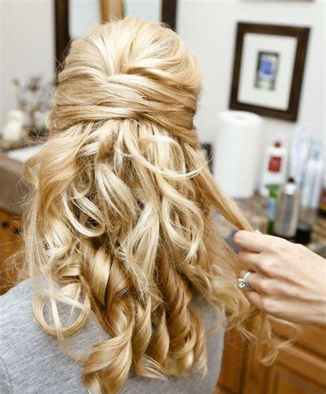 hottest bridesmaid hairstyles  long hair popular