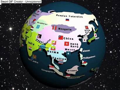 Map Global Maps Geography Flag Political Flags