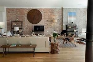 Interior Designs : Fascinating Exposed Brick Wall Designs ...