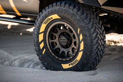 toyota hilux tonka concept tire stickers