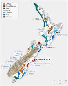Lake New Zealand Map