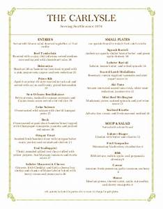 italian fine dining menu simple menus With fine dining menu template free