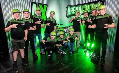 Team Green Supermini Arenacross squad revealed - MotoHead