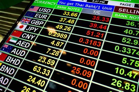 exchange bureau de change où changer ses devises pour voyage en asie du sud est
