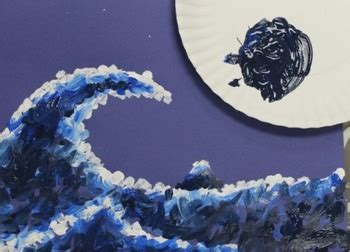 hokusais  great wave  kanagawa lesson plan