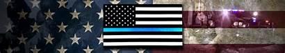Flag Thin Line Sheriff Wallpapers Monitor Triple