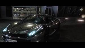 Ferrari Metallic Sports Car in The Spy Who Dumped Me (2018