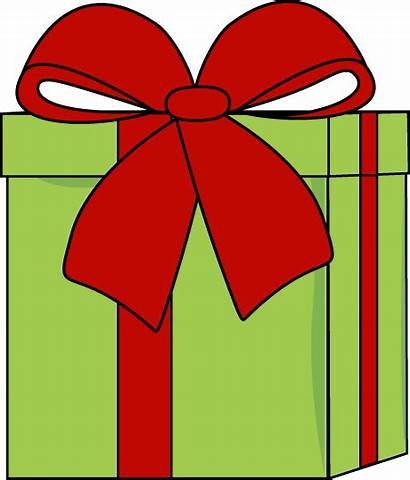 Christmas Bow Gift Clip Graphics