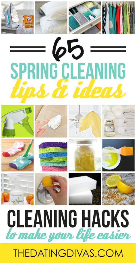 spring cleaning hacks easy cleaning ideas  dating divas