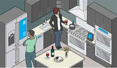 Kitchen Smart Tech Homes Technology Business Trying