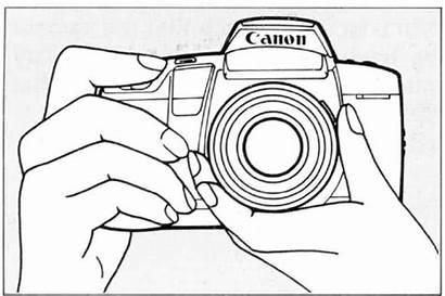 Camera Drawing Polaroid Simple Dslr Getdrawings Shutter