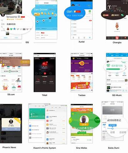 Ui Mobile Chinese Trends User Apps Ranking