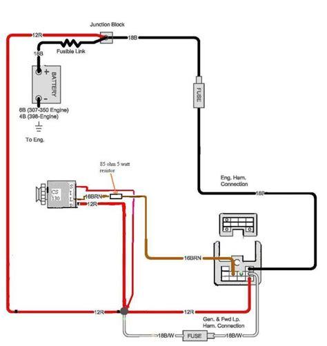 Internal Alternator Wiring Page The Present