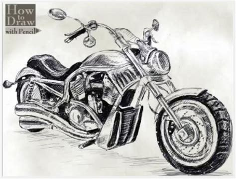 9 Steps To Drawing A Harley-davidson V-rod [w/video] News