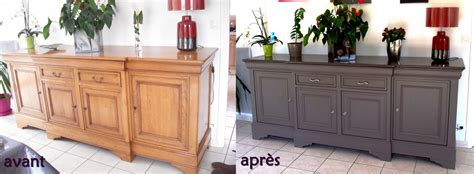 Photos avant/après relooking de meubles Relooker meubles