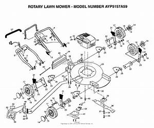 Ayp  Electrolux 5157a59  1999  U0026 Before  Parts Diagram For Rotary Lawn Mower