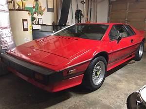 Lotus Esprit Turbo : 1983 lotus esprit turbo for sale 100287 mcg ~ Medecine-chirurgie-esthetiques.com Avis de Voitures