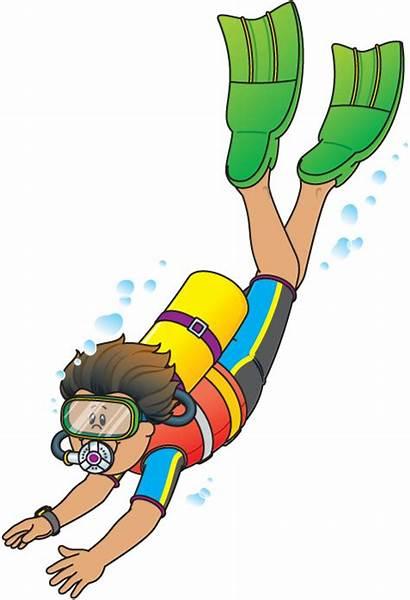 Clipart Diving Diver Clipartmag