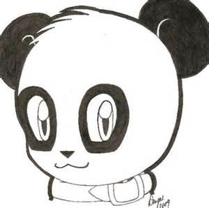 Panda Cartoon Drawing