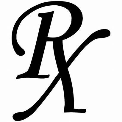 Rx Symbol Clip Clipart Prescription Doctor Pharmacy