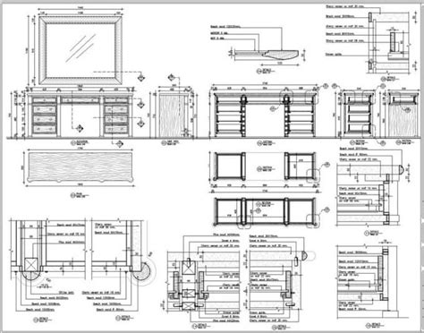 furniture  woodworking shopdrawing furniture   drawing furniture painting