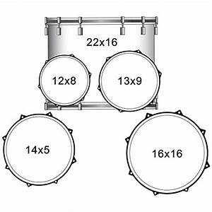 Rise By Sawtooth Full Size Student Drum Set With Hardware