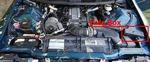 Fuse Box Diagram Chevrolet Camaro  Z28   1993