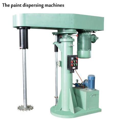 paint dispersion machine ink paste dye food beverage