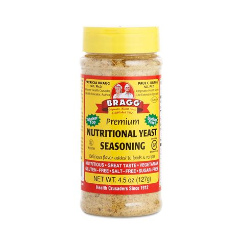 nutritional yeast nutritional yeast seasoning by bragg thrive market