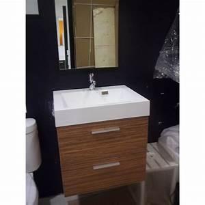 Meuble Vasque 60 : meuble vasque 2 tiroirs de 60 cm banio salle de bain badkamers ~ Teatrodelosmanantiales.com Idées de Décoration