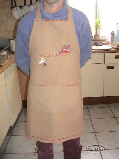 patron pour faire un tablier de cuisine tablier pour chocolature