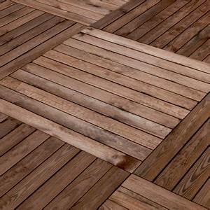 Dalle De Terrasse Castorama : dalle de terrasse en pin marron mokala 100 x 100cm p ~ Premium-room.com Idées de Décoration