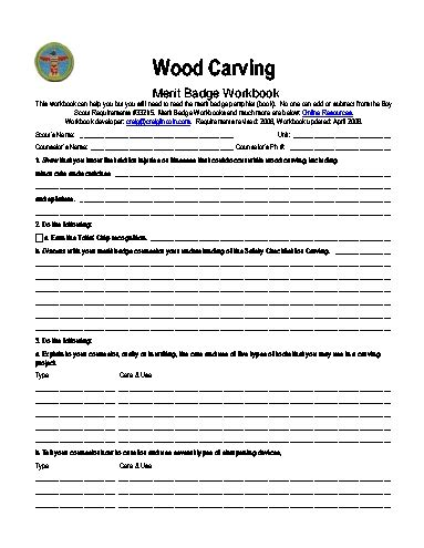 canoeing merit badge worksheet worksheets for all
