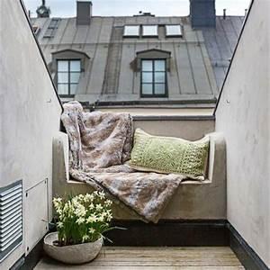 Balkongestaltung Kleiner Balkon : sofa kleiner balkon gestaltung ideen wohnideen ~ Michelbontemps.com Haus und Dekorationen