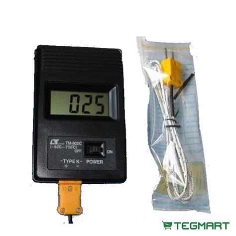 thermoelectric generator temperature thermocouple probe