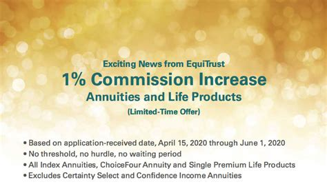 Equitrust life insurance company is a trusted provider of life insurance and annuity products with a strong track record of operating performance. Western Marketing - EquiTrust Annuities