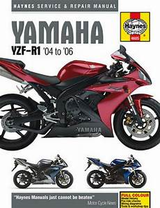 Yamaha Yzf-r1 Haynes Repair Manual  2004-2006