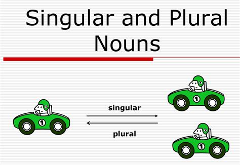 Lesson Plan Of Singular And Plural Nouns (regularirregular) English Grade Iv  Effective And