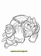 Coloring Trollhunters Trollhunter sketch template