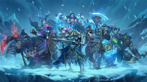 Warlock Hearthstone Deck Frozen Throne by Hearthstone Knights Of The Frozen Throne Expansion