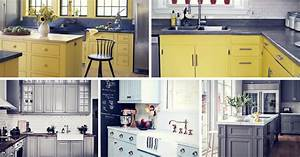 20 gorgeous kitchen cabinet color ideas for every type of With what kind of paint to use on kitchen cabinets for create your own sticker