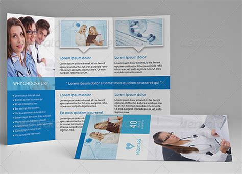 Healthcare Brochure Templates Free by Free Brochure Templates Csoforum Info