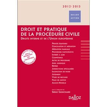 droit  pratique de la procedure civile edition