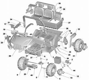 Power Wheels Arctic Cat Parts