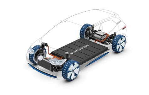 Electric Car Battery by Volkswagen Debut I D Concept Electric Car With 600 Km